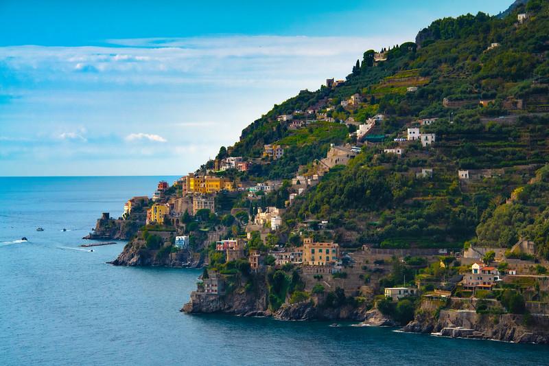 At The Edge Of Town - Cetara, Amalfi Coast, Bay Of Naples, Campania, Italy