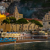 First Light On The Famous Amalfi Beach