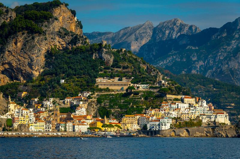 Amalfi Coastline_7 - Amalfi Coast, Campania, Bay Of Naples, Italy