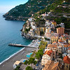 Windy Roads Of Amalfi Coast - Cetara, Amalfi Coast, Bay Of Naples, Campania, Italy