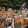 A Closer Look At The Center Of Minori_ - Cetara, Amalfi Coast, Bay Of Naples, Campania, Italy