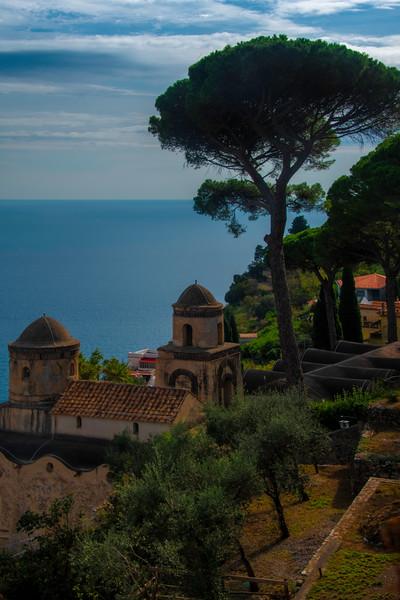 A Garden Of Trees And View - Ravello, Amalfi Coast, Campania, Italy