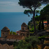 A Garden Of Trees And View - Ravello, Amalfi Coast, Campania, Italy