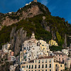 The Cliffside Buildings Of Amalfi