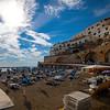 A Nice Day To Have The Beach To Yourself - Atrani, Amalfi Coast, Campania, Bay Of Naples, Italy