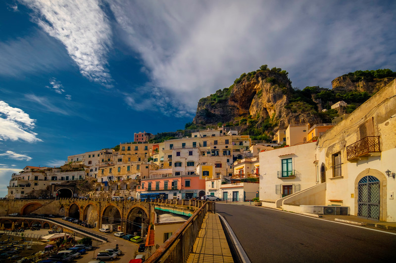 All Roads Lead To Atrani - Atrani, Amalfi Coast, Campania, Bay Of Naples, Italy