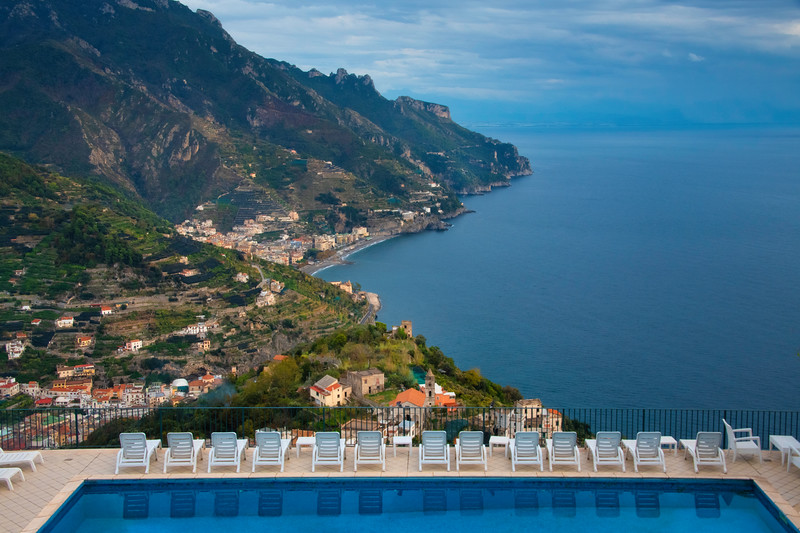 A Good Place To Check out The View - Ravello, Amalfi Coast, Campania, Italy