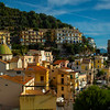 The Tops Of The Buildings In The Town Of Cetara - Cetara, Amalfi Coast, Bay Of Naples, Campania, Italy