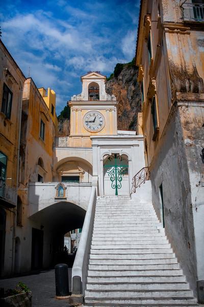 Color Buildings Of Atrani - Atrani, Amalfi Coast, Campania, Bay Of Naples, Italy