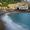 The Old Town Beach Of Amalfi