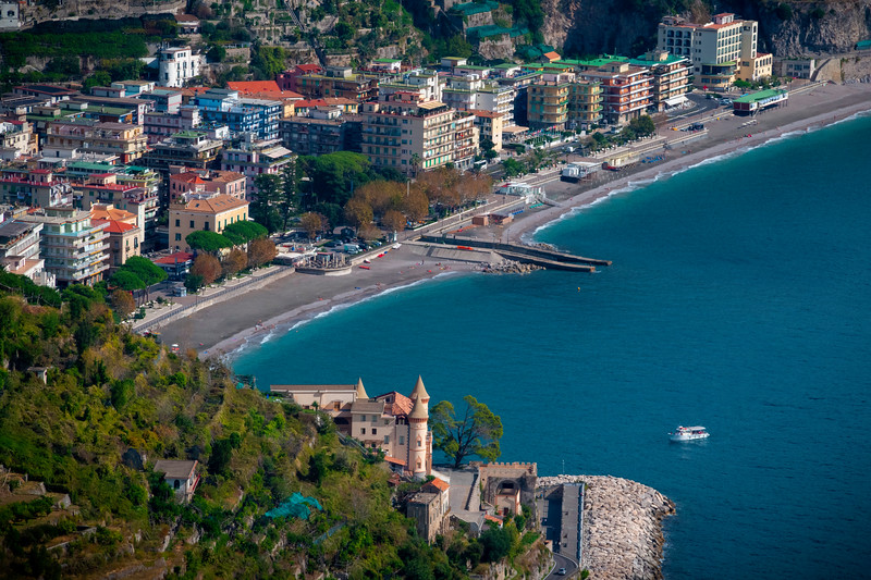 Nothing But Blue Waters And Beach For Miles - Ravello, Amalfi Coast, Campania, Italy