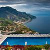 Pool Deck Views Of The Amalfi Coast - Ravello, Amalfi Coast, Campania, Italy