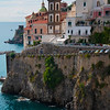The Classic Town Of Atrani - Atrani, Amalfi Coast, Campania, Bay Of Naples, Italy