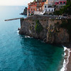 The Seaside Town Of Atrani - Atrani, Amalfi Coast, Campania, Bay Of Naples, Italy