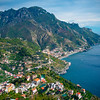 Rolling Hills Of Ravello And The Amalfi Coast - Ravello, Amalfi Coast, Campania, Italy