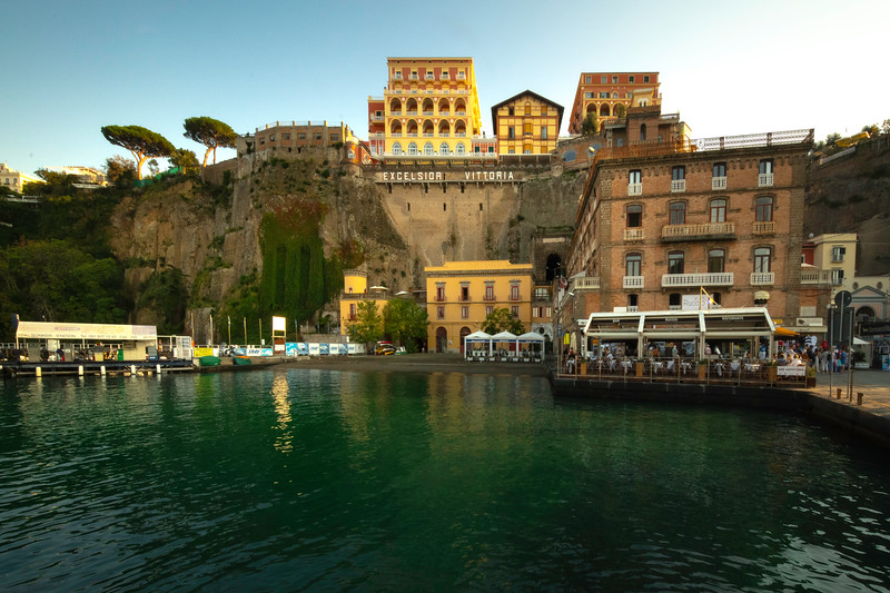 The Main Marina In Sorrento Sorrento, Italy