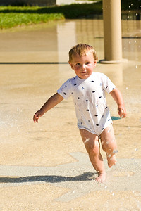 Fun at the Splash Pad