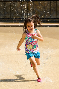 Fun at the Splash Pad