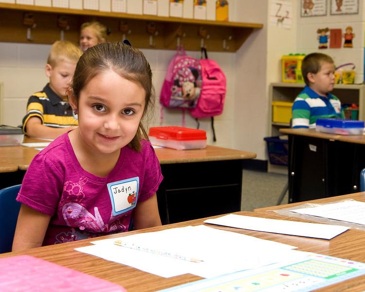 Jadyn's First Day of Kindergarten
