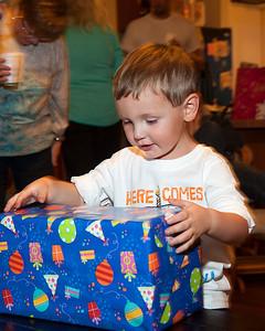 Travis' 3rd Birthday Party 11-22-2014