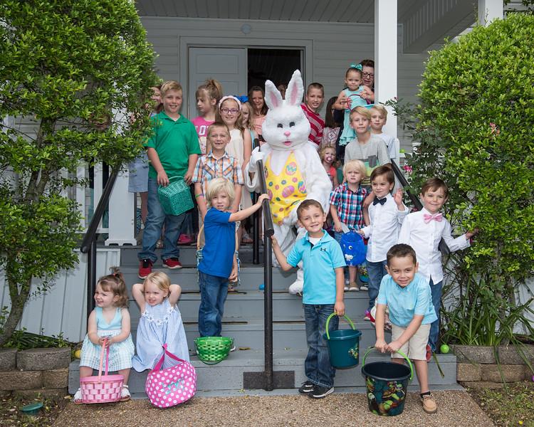 Easter Egg Hunt at Patton Baptist Church 4-16-2017