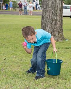 Easter Egg Hunt at Patton Baptist Church