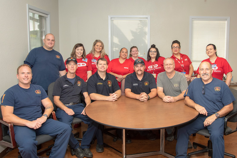 HEB Cooks Breakfast for Firefighters 9-7-2018