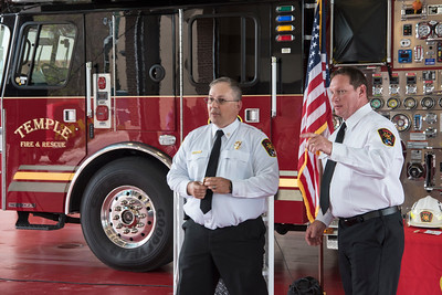 Temple Fire-Rescue Promotional Ceremony 4-6-2018