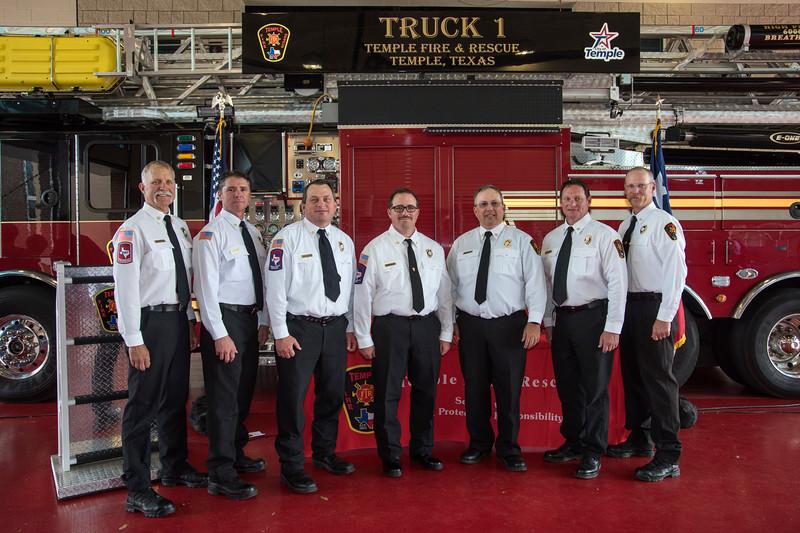 Temple Fire-Rescue Promotion Ceremony 4-6-2018