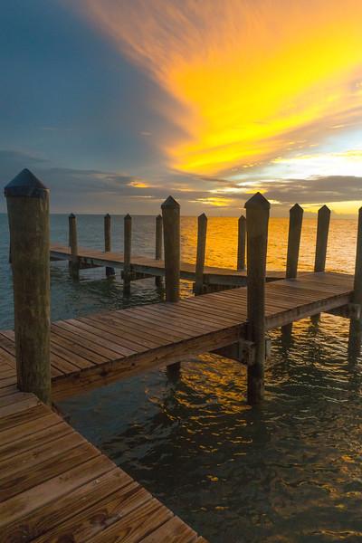Boardwalk Maze At Sunset - Key West, Florida Keys, Florida