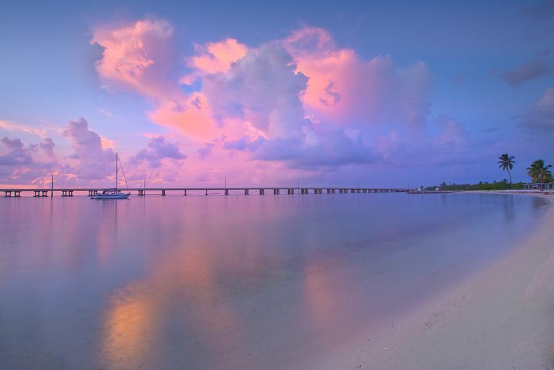 Seclusion At Its Best - Bahia Honda State Park, Florida Keys, Florida