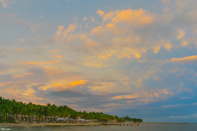Sunset Explosion Above Key West - Key West, Florida Keys, Florida