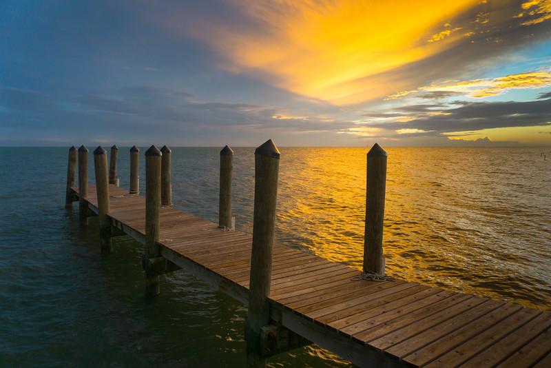A Walk Into The Sunset - Key West, Florida Keys, Florida
