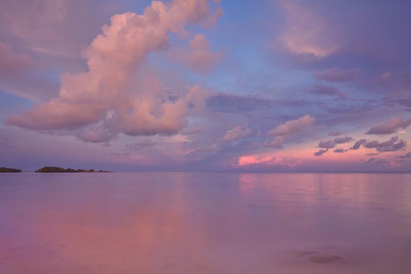 Pastel Sky - Bahia Honda State Park, Florida Keys, Florida
