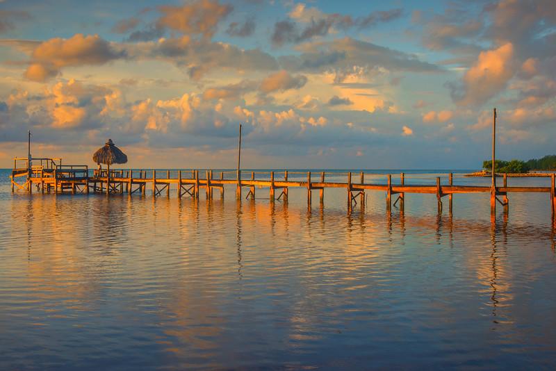 A Stunning Morning On The Pier - Marathon, Florida Keys, Florida