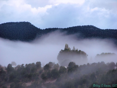 Morning Mist over Carbondale, Colorado
