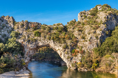 Gorges de l'Ardeche - Pont d´Arc - Vallon (France)