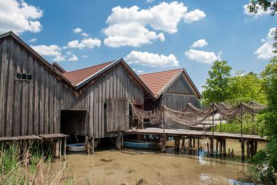 Fishing Huts
