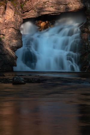 Running Eagle Falls - Two Medicine Area,  Glacier National Park, Montana