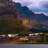 Morning Light On The Many Glacier Hotel - Swiftcurrent Lake, Many Glacier, Glacier National Park, Montana