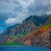 Looking At The Shores Of Na Pali - Na Pali Coastline, Kauai, Hawaii