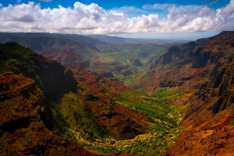 Inside The Heart Of Waimea Canyon - Waimea Canyon, Kauai, Hawaii