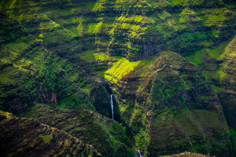 At The Base Of The Bowl - Waimea Canyon, Kauai, Hawaii