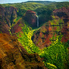 Around Every Corner Is A Waterfall - Waimea Canyon, Kauai, Hawaii