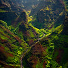 Pyramids Of Time Inside The Canyon - Waimea Canyon, Kauai, Hawaii