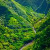 Rivers Running Down From The Waterfalls - Waimea Canyon, Kauai, Hawaii