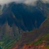 Jagged Moments Of Light And Shadow - Na Pali Coastline, Kauai, Hawaii