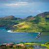 Leaving The Harbor -  East Shore Of Kauai, Hawaii