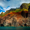 Castles In The Sky Reaching Out - Na Pali Coastline, Kauai, Hawaii