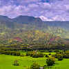Pano Of Hanalei Area - Hanalei Area, North Shore, Kauai, Hawaiian Islands